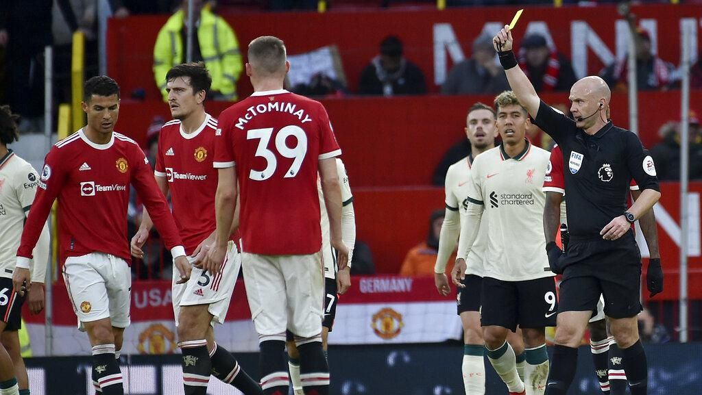 MU Vs Liverpool: Setan Merah Tak Cuma Dihujani Gol, Kartu Juga