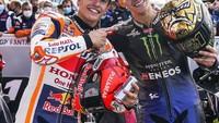 Quartararo Juara Dunia MotoGP 2021, Marquez: Saatnya Pelajari Cara Mainnya
