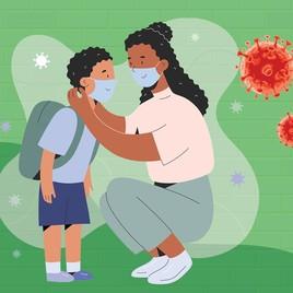 Prokes Nggak Boleh Lengah, Ini Tips Pakaikan Masker pada Anak