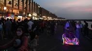 Pantai Maju Jadi Tempat Kongkow Baru Warga Jakarta