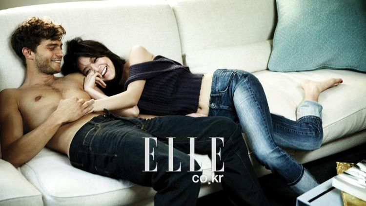 Viral 7 Potret Mesra Shin Min Ah & Jamie Dornan Fifty Shades of Grey