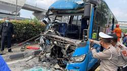 11 Korban Luka Kecelakaan TransJakarta Dipulangkan, 26 Masih Dirawat di RS