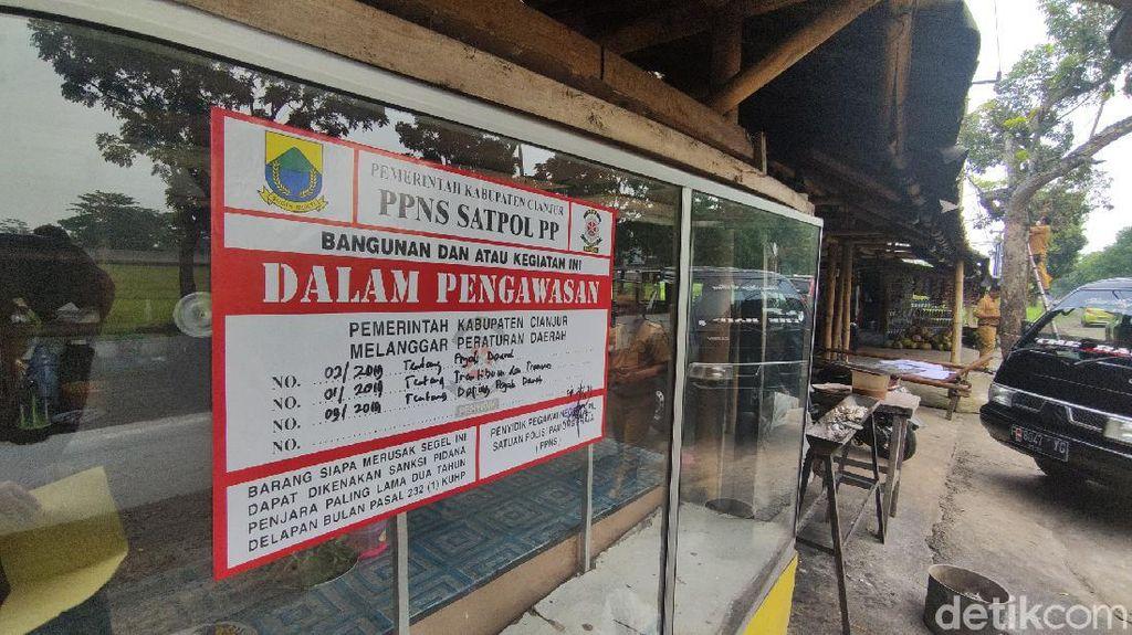 Tak Pakai Alat Laporan Pajak Online, Sejumlah Resto di Cianjur Disegel