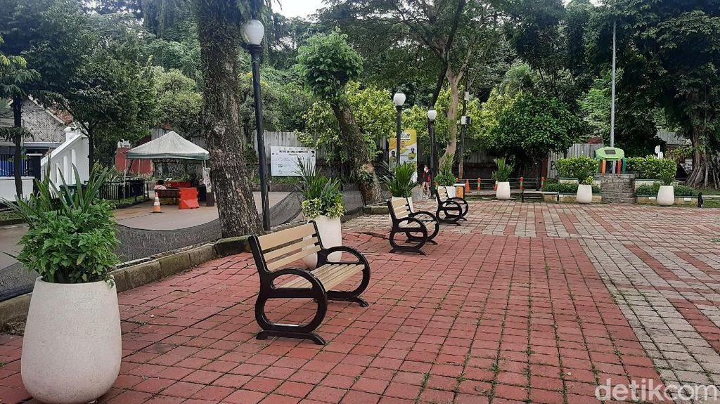Kota Bogor Level 2, Kapan Taman Sempur Dibuka?