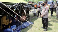 Trauma Gempa Beruntun, Ratusan Warga Kabupaten Semarang Mengungsi