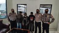 Ekspresi Lesu 3 Anggota Geng Motor Diciduk Usai Ugal-ugalan di Jalan
