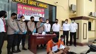 Rumah Bandar Sabu di Sumsel Digerebek, 5 Orang Diciduk Termasuk Oknum Polisi