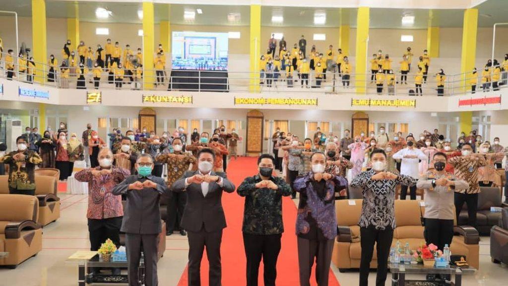 Gubernur Sumsel Harap Unsri Segera Gelar Kuliah Tatap Muka