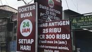 Sebelum Ada Perintah Jokowi, Klinik di Ciracas Patok Harga PCR Rp 300 ribu