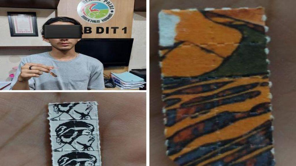 Barista Terkenal di Banjarmasin Ditangkap Terkait Narkoba Prangko Dahsyat