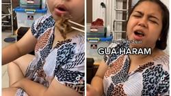 Diprank Makan Daging Babi, Netizen Ini Beri Reaksi Kocak