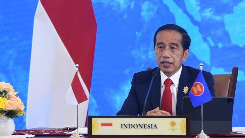 Jokowi Harap Penurunan COVID di ASEAN Jadi Momentum Bangkit Bersama