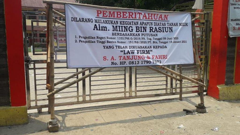PT Banten Menangkan Ahli Waris soal Penyegelan SD, Ini Respons Pemkab Tangerang