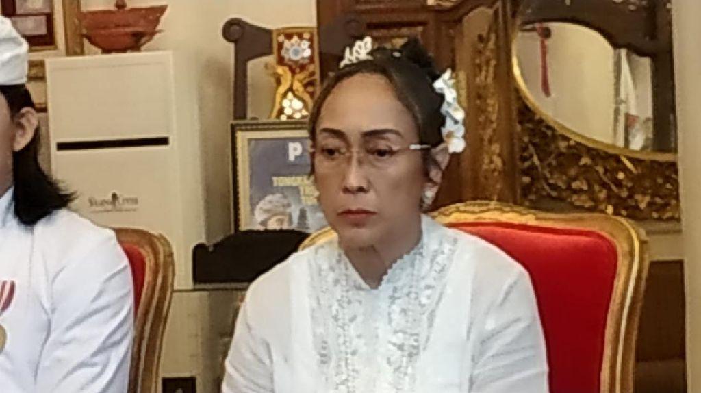 Anut Agama Hindu, Sukmawati Soekarnoputri Bergelar Ratu Niang Sukmawati