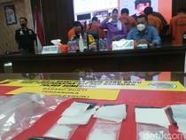 Transaksi Sabu Lewat Medsos, Tiga Pria Diringkus Polisi di Sumedang