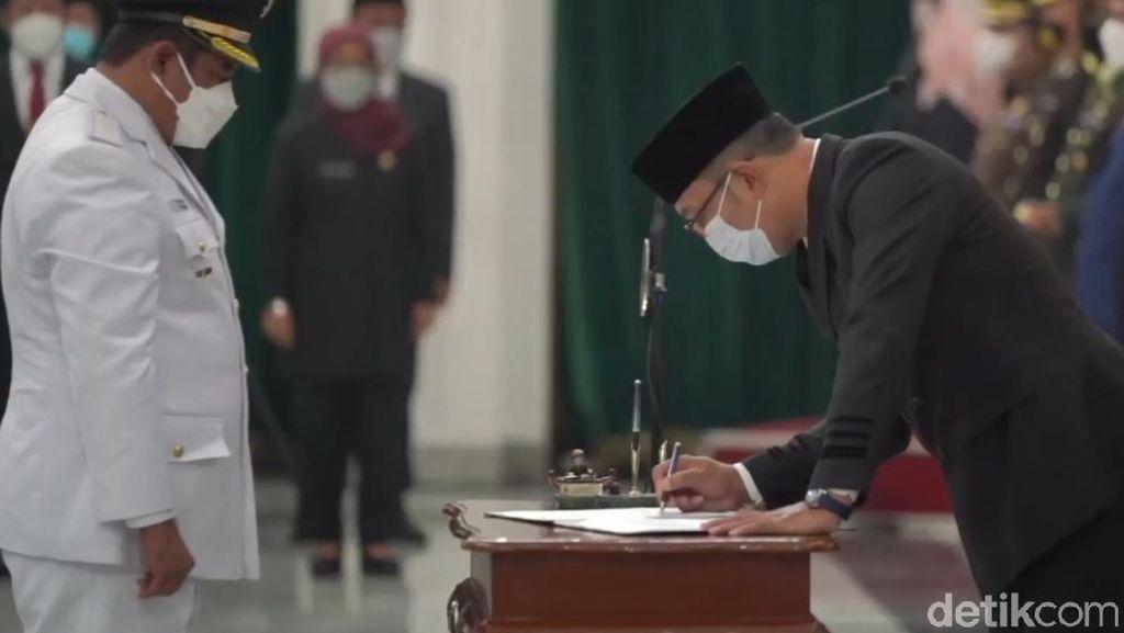 Sah! Akhmad Marjuki Jadi Wakil Bupati Bekasi Definitif