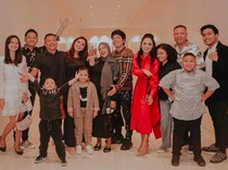 Momen Harmonis Keluarga Anang Hermansyah dan Raul Lemos Berkumpul