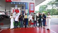 Gandeng Pertamina Retail, Antis Bagi-bagi Hand Sanitizer di SPBU