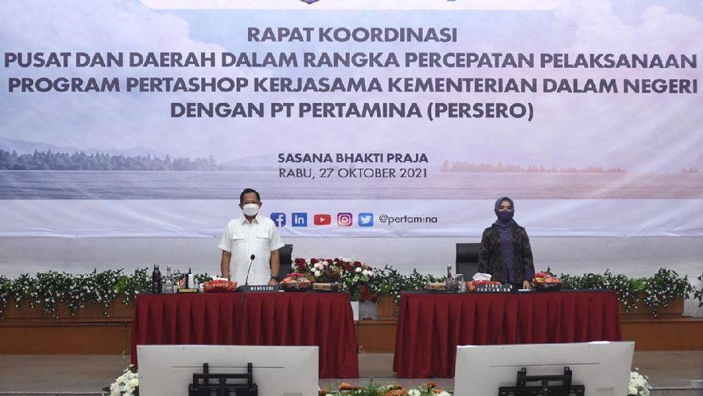 Genjot Ekonomi Desa, Kepala Daerah Diminta Dukung Program Pertashop