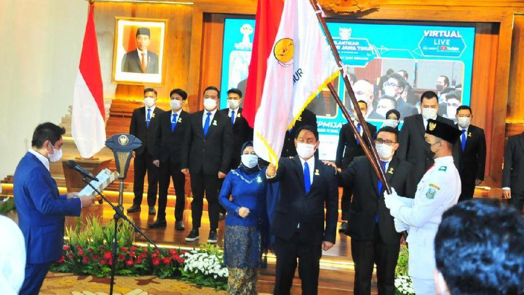 Resmi Dilantik, HIPMI Perkuat Dukungan untuk Jatim Bangkit