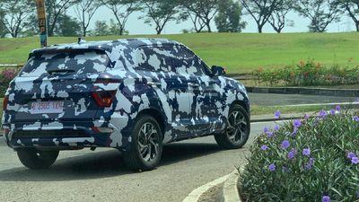 Sosok Hyundai Creta Wara-wiri Pakai Kamuflase Peta Indonesia