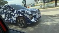 Terciduk! Hyundai Creta Keliaran Pakai Kamuflase Kepulauan Indonesia