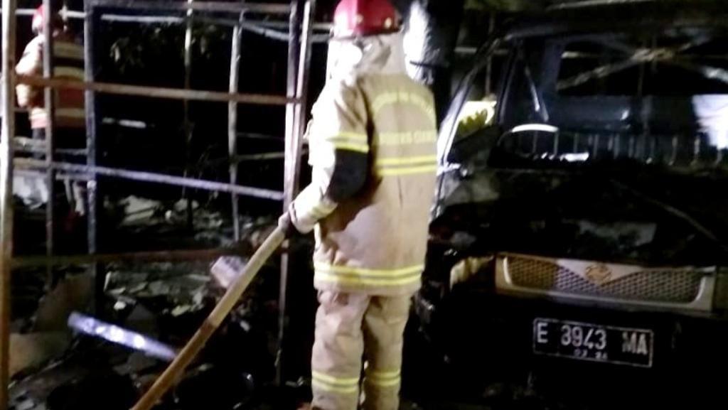Kios Bensin Eceran di Ciamis Terbakar, Satu Warga Alami Luka Bakar