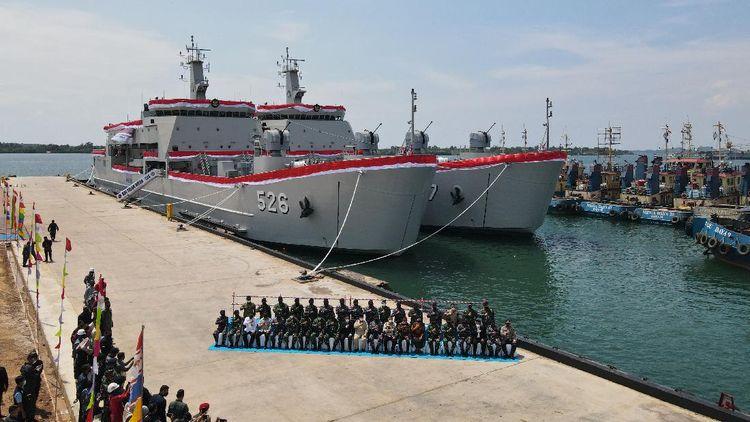 Lihat! Ini 2 Kapal Perang Baru TNI AL