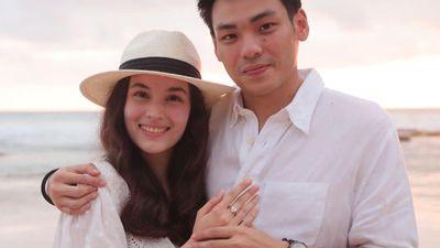 8 Momen Romantis Chelsea Islan Dilamar Rob Clinton Kardinal di Bali