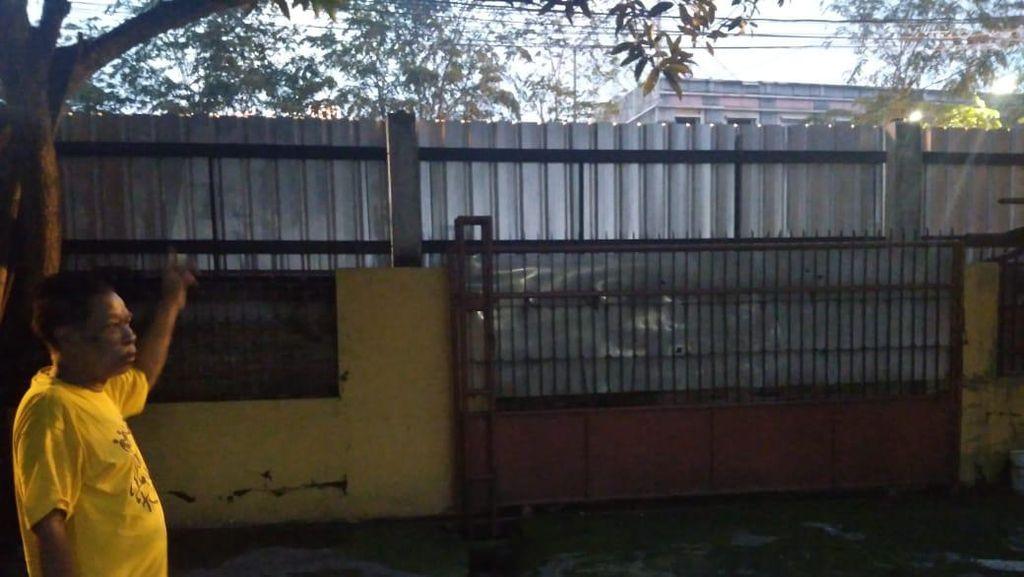 Penampakan Tembok 2 Meter Tutupi Akses ke Rumah Warga di Medan