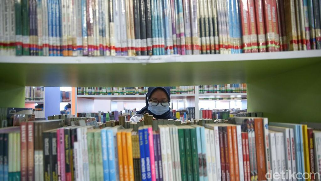 Perpustakaan di Jakarta Kembali Dibuka