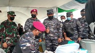 200 Prajurit TNI AL Bidik 35 Kecamatan Rendah Capaian Vaksinasi di Bogor