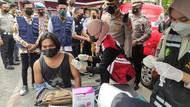 Polisi Sidoarjo Buka Posko Siaga Vaksinasi 24 Jam