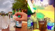 Pamer Minum Soju Halal, TikToker Ini Dikritik Netizen