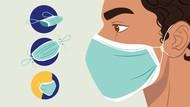 Biar Makin Terlindungi, Ini Cara Buat Simpul Masker agar Lebih Rapat