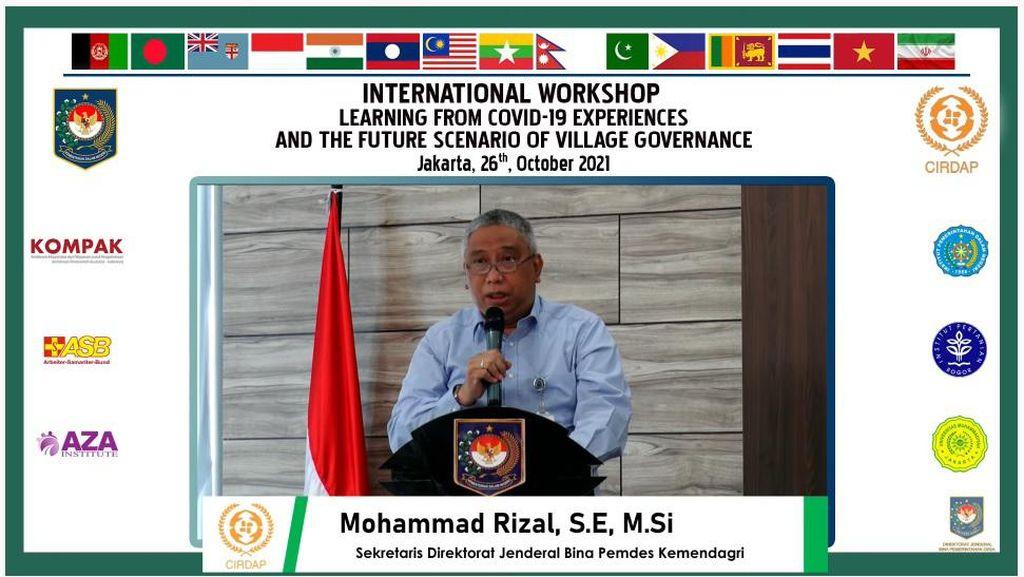 RI Jadi Tuan Rumah Workshop CIRDAP Bahas Pemerintahan Desa Masa Depan
