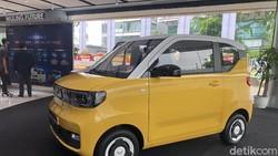 Wujudnya Nongol di Jakarta, Ini Penampakan Mobil Listrik Murah Meriah Wuling