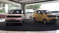 Wuling Pamer Mobil Listrik Murah Rp 64 Jutaan di Jakarta