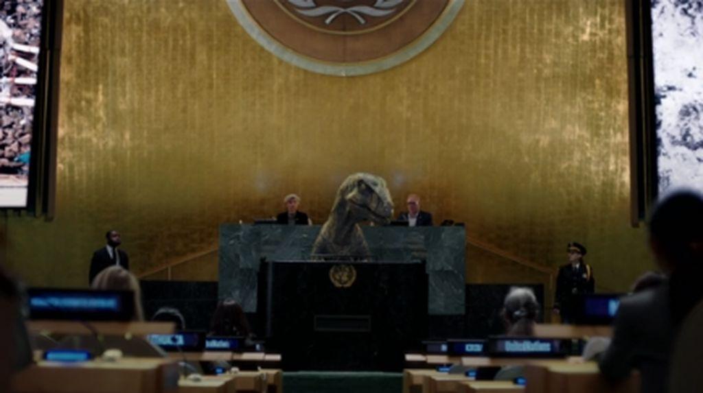 Ada Dinosaurus dalam Video Kampanye PBB Tema Perubahan Iklim