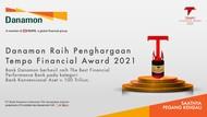 Bank Danamon Raih Penghargaan Tempo Financial Award 2021