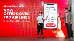 Aplikasi Airasia Sediakan Tiket Lebih dari 700 Maskapai dan Tebar Promo