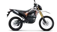 Honda New CRF150L Punya 2 Baju Baru, Hijau dan Putih