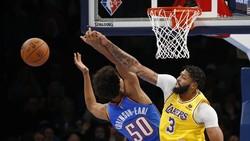 Hasil NBA: Thunder Tertinggal 26 Poin, lalu Kalahkan Lakers