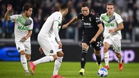 Juventus Vs Sassuolo: Neroverdi Permalukan Bianconeri di Turin
