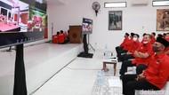 Megawati Resmikan Kantor PDIP yang Didanai Jokowi di Solo