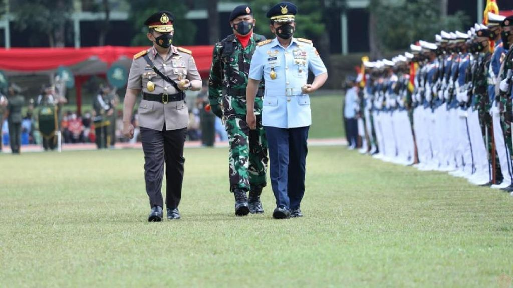 Kapolri-Panglima TNI Lantik Prabhatar, Taruna Diminta Jaga Perilaku