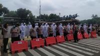 Ada Demo Mahasiswa-Buruh, Jalan Medan Merdeka Barat Ditutup