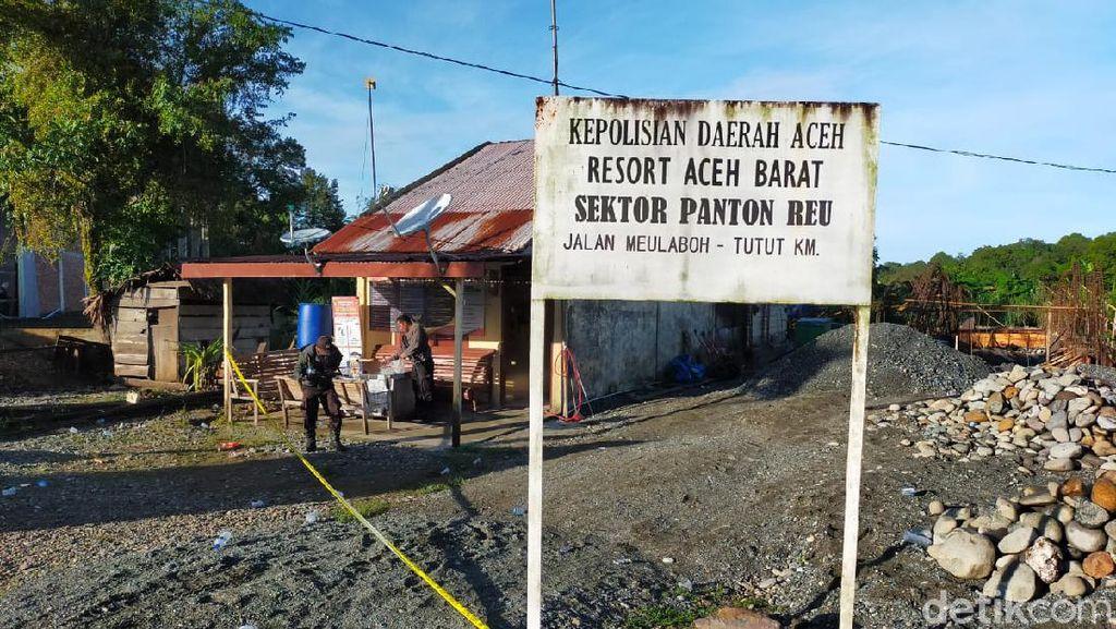 Geger Pospol di Aceh Ditembaki tapi Pelaku Masih Misteri