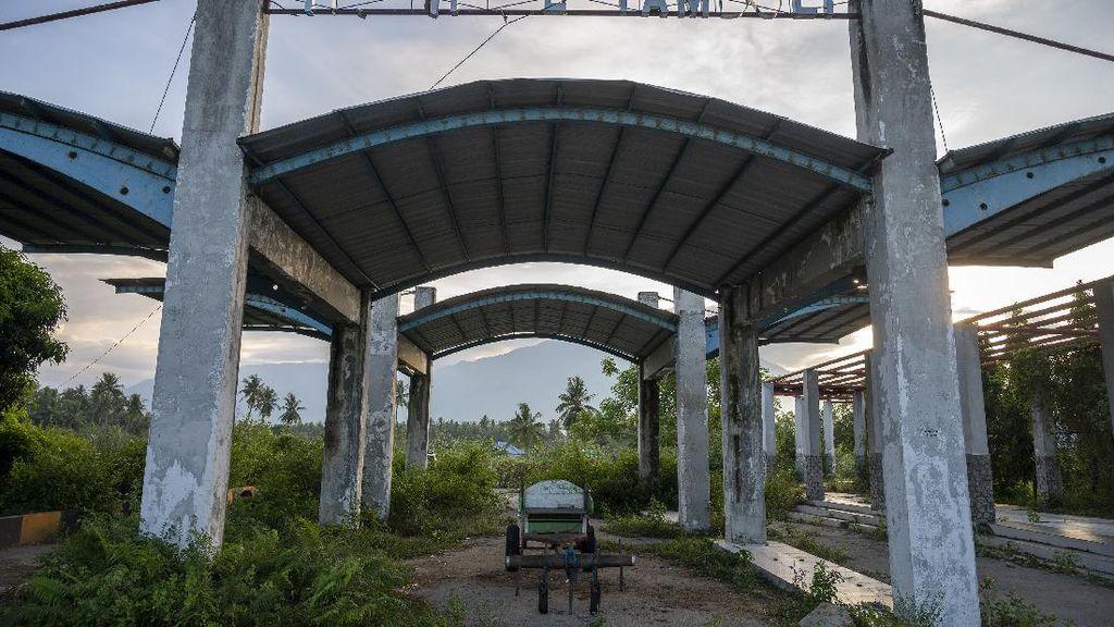Potret Terminal Tambuli di Sigi yang Rusak dan Tak Berfungsi