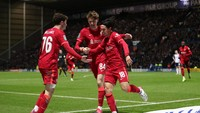 Liverpool Kalahkan Preston 2-0, Lolos ke Perempatfinal Carabao Cup